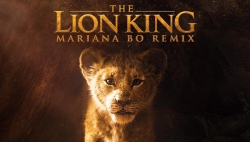 Image publishing: THE LION KING - REMIX BY MARIANA BO