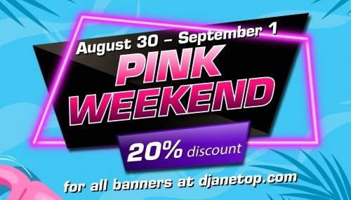 Image publishing: NEXT PINK WEEKWND IS COMING AUGUST 30 - SEPTEMBER 1!