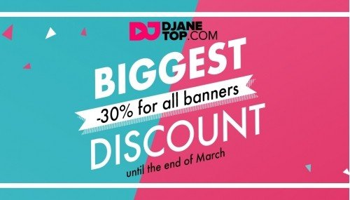 Image publishing: DJANETOP BIGGEST DISCOUNT