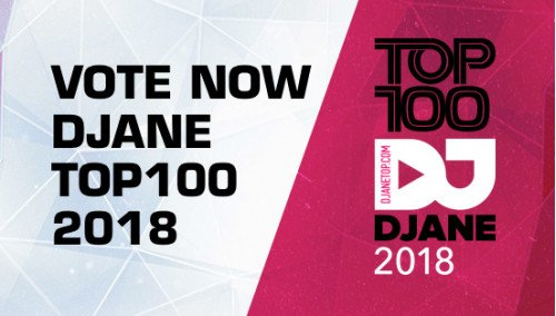Image publishing: Start of voting for the TOP 100 DjaneTop 2018!