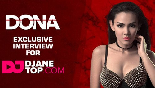Image publishing: DJ DONA AMELIA exclusive interview for DJANETOP.COM!